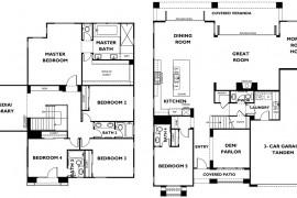 5 Bedroom Coastal Plantation Homes at 1 Channel Island