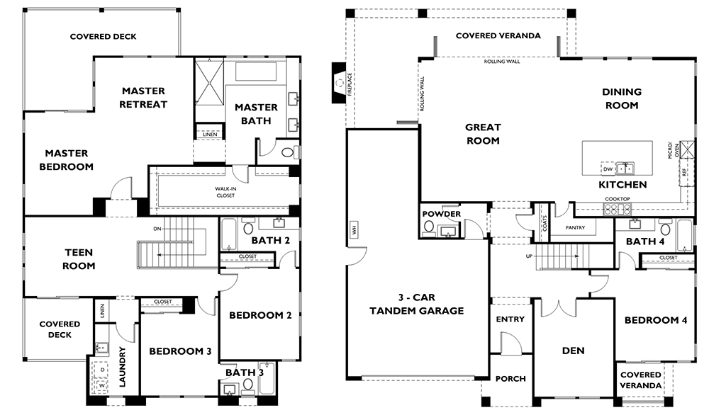 Large 4 Bedroom Home In Carlsbad At Lanai Buy New San Diego